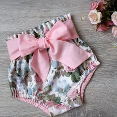 Baby toddler bloomers pattern high waisted bloomer pdf bloomers pattern baby shorts pattern diaper cover pattern patterns for kids Sewing Patterns For Kids, Sewing Projects For Kids, Sewing For Kids, Baby Patterns, Pattern Sewing, Sewing Designs, Sewing Diy, Dress Patterns, Baby Bloomers Pattern