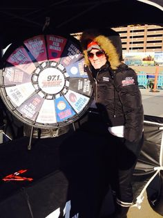 Come spin our prize wheel @971theticketxyt at the 5k #scoperun at the river walk today !! And see @mejacks215. Buy this Prize Wheel at http://PrizeWheel.com/products/tabletop-prize-wheels/tabletop-black-clicker-prize-wheel-12-slot/.