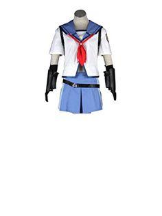 Mtxc Womens Angel Beats Cosplay Costume Shina Eri 1st Size XXXLarge White