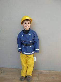 Fireman Sam Enfants Déguisement TV Dessin animé pompier uniforme Enfants Garçons Costume