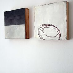 maryzeran: Ralf Bohnenkamp My very favorite! Minimalist Painting, Minimalist Art, Modern Art, Contemporary Art, Wax Art, Black White Art, Encaustic Art, Small Art, Painting Inspiration