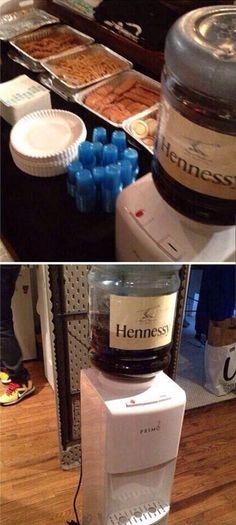 Hennessy Water Fountain