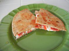 Italy meets Mexico. Pizza Quesadilla