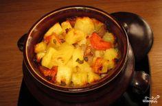 Кижуч, запеченный с картофелем