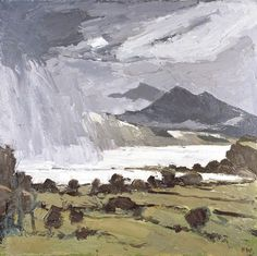 Kyffin Williams - Storm Approaching (1990-2006)