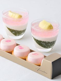 Beautiful desserts from the Grand Hyatt in Tokyo.
