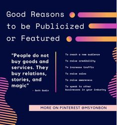 "Here are a good few reasons to be publicized or featured in something. Lose the ""want"" for vanity metrics. Seth Godin, How To Get, How To Plan, Public Relations, Event Planning, Jackson, Vanity, Dressing Tables, Powder Room"