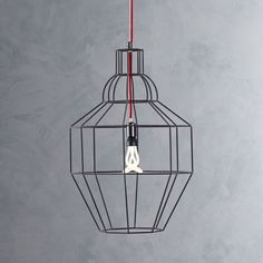 Riviera Large Grey Pendant Lamp-Thinking of this for the entry hallway.  I've never liked the lighting we had.  Only issue is taking it down...it's so high up.