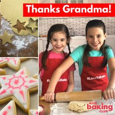 While our kids are stuck at home it's the grandparents that are sending our baking kits to the grandkids. It's their way of saying I miss you and can't wait to bake with you when we can see each other. Our baking kits include all the recipes and baking tools and decorating supplies to keep the kids engaged with fun activities.
