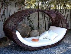 loungebank of hangmat? beide!.