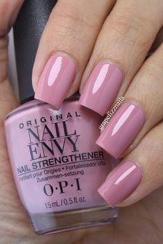 New OPI Nail Envy (grape fizz nails) Opi Nail Envy, Opi Nails, Manicure And Pedicure, Opi Nail Polish, Trendy Nails, Cute Nails, Opi Nail Colors, Nagellack Trends, Nails Only