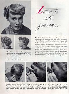 learn pincurls