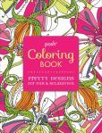 I have to have one of these or three!  Posh Coloring Book: Pretty Designs for Fun & Relaxation