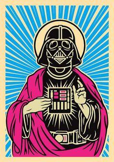 Divine Darth Vader Drawings