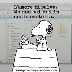 love saves you but never knows which folder Jokes Quotes, Wise Quotes, Mood Quotes, Funny Quotes, Snoopy The Dog, Snoopy And Woodstock, Funny Links, Famous Phrases, Snoopy Quotes