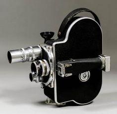 A Paillard Bolex 16mm cine camera,
