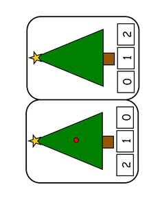Children's activity and craft templates. Preschool Christmas, Christmas Crafts For Kids, Xmas Crafts, Christmas Printables, Christmas And New Year, Little Christmas Trees, Christmas Time, Advent, Math Humor