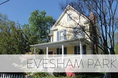 Evesham Park is a quaint neighborhood in North Baltimore located just north of Belvedere Square. Homes are primarily single-family detached residences, but the neighborhood also includes a few rowhomes and one apartment building. The community is a quiet enclave with quick, easy access to shops, restaurants, transit stops and major commuter routes. Baltimore Neighborhoods, Tree Line, First Apartment, Community Events, Single Family, Easy Access, Restaurants, The Neighbourhood, Shops