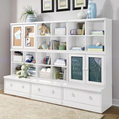 Beautiful kids storage solution