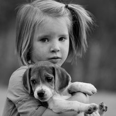 You can't tear apart a little girl and her beagle :3