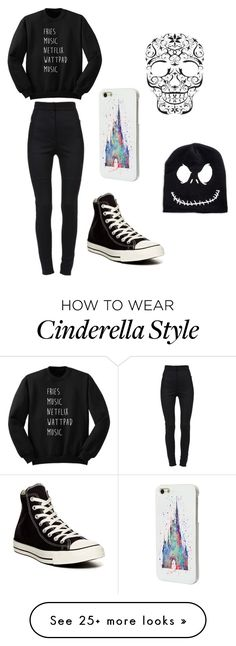 """Untitled #162"" by sportsgirl-i on Polyvore featuring Dolce&Gabbana, Converse and Disney"