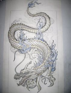 I will one day get this dragon tattooed on my back