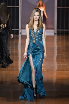 Versace Fall 2014 Collection #MFW