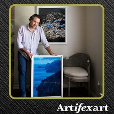 @artifexart posted to Instagram: One of our clients showing off a piece we framed.   I was fortunate as a child, growing up and living in fascinating cities and countries all over the world. Because of that, traveling is one of my first loves. Throughout my career I've been able to continue my adventures and create imagery of my travels. My print shop is officially open and I invite you to take a peek at some of my images that are now for sale. I have selected some images that might take you…