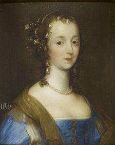 Remigius van Leemput - Portrait of a Lady