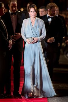 Kate Middleton attends the Royal Film Performance of Spectre at Royal Albert Hall in London on Oct. 26, 2015. - Cosmopolitan.com