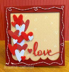 Stempelfrida: Love is all around