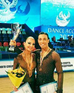 Marco Mancini e Nadiya Dyatlova al Campionato del Mondo del 2014! Passione e duro lavoro prima o poi vengono ripagati!  Questi sono i nostri atleti! #love #dancesport #latin #ballroom #dancing #passion #dance #amazing #awesome #dancewear #beauty #dancer #best #moments #competition #dress #woman #nice