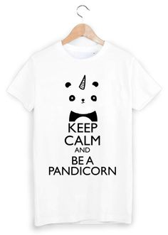 T-shirt imprimé licorne panda