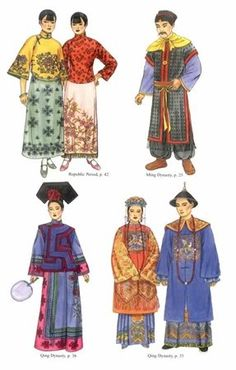 Verre Oosten, Japonais Chinois, Chinois Traditionnel, Robes Traditionnelles, Chinois Anciens, Vêtements Traditionnels, Costume Traditionnel