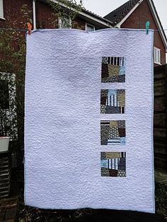 Reverse of George's birthday quilt