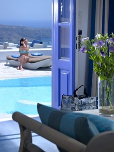 The Best Hotels in Santorini are listed on Travelive! Top selection of hotels for your luxury vacation in Greece. Best Hotels In Santorini, Santorini Greece, Peaceful Places, Beautiful Places, Greece Vacation, Summer Dream, Greek Islands, Travel Pictures, Greece