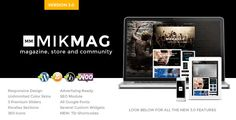 MikMag v3.6 – Responsive, Buddypress and Woocommerce
