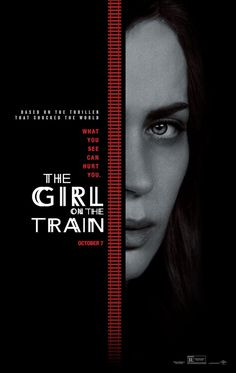 THE GIRL ON THE TRAIN movie poster No.2
