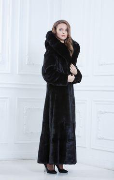 dimitri's uncle makes these Black mink fur coat | Furs