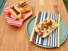 Get Sunny's Easy BLT Hot Dog Recipe from Food Network
