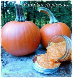 "Bobbi's Kozy Kitchen: Pumpkin Applesauce for ""Sauce it Up"" #SundaySupper"