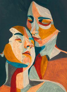Official site of the visual artist Rocío Montoya. Illustration, collage, mixed media and photography Art Journal Inspiration, Art Inspo, Poster Color Painting, Art Portfolio, Portrait Art, Oeuvre D'art, Erotic Art, Figurative Art, Female Art