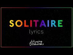 Solitaire - Marina and the Diamonds (LYRICS) - YouTube