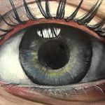 Soul, How to Paint Eye in Watercolour, Time Lapse - YouTube