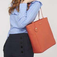 Long+Acre,Large+Zip-top+Tote+Bag