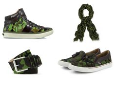 Jimmy Choo's Fall/Winter Camo Collection