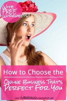 Read on to find out how find the perfect online business for you. Find your skills, your potential customers and find out more about five common online business models.
