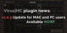 Virus HC plugin v1.0.3 update now available! on http://www.mysteryislands-music.com/virushc-plugin-v1-0-3-update-now-available/