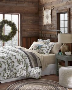 Holiday Diaries: How a New Mom Is Making New Memories This Holiday Season Rustic Bedding, Best Pillow, Bedroom Styles, Bedroom Ideas, Home Decor Wall Art, Home Decor Accessories, New Moms, Seasonal Decor, Apartment Therapy