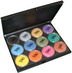 Face paint palette set from face paint shop australia. now you can bring your face Tag Face Paint, Neon Face Paint, Rainbow Face Paint, Skin Color Palette, Pastel Palette, Presents For Girls, Paint Shop, Paint Designs, Face Art